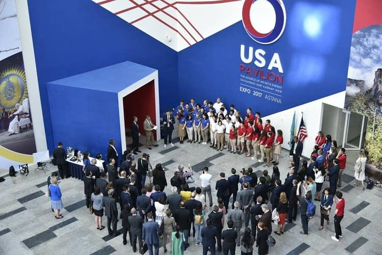 USA Pavilion Astana